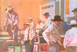 Cowboy Corner, Judi Betts